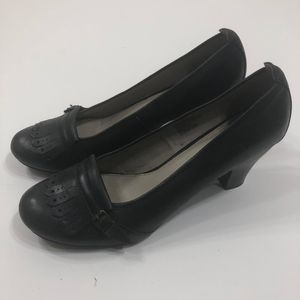 Hush Puppies Black Kilted Pumps Size 11